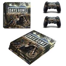 Days Gone PS4 Pro Skin Sticker For Sony PlayStation 4 Console and Controllers PS4 Pro Skin Stickers Decal