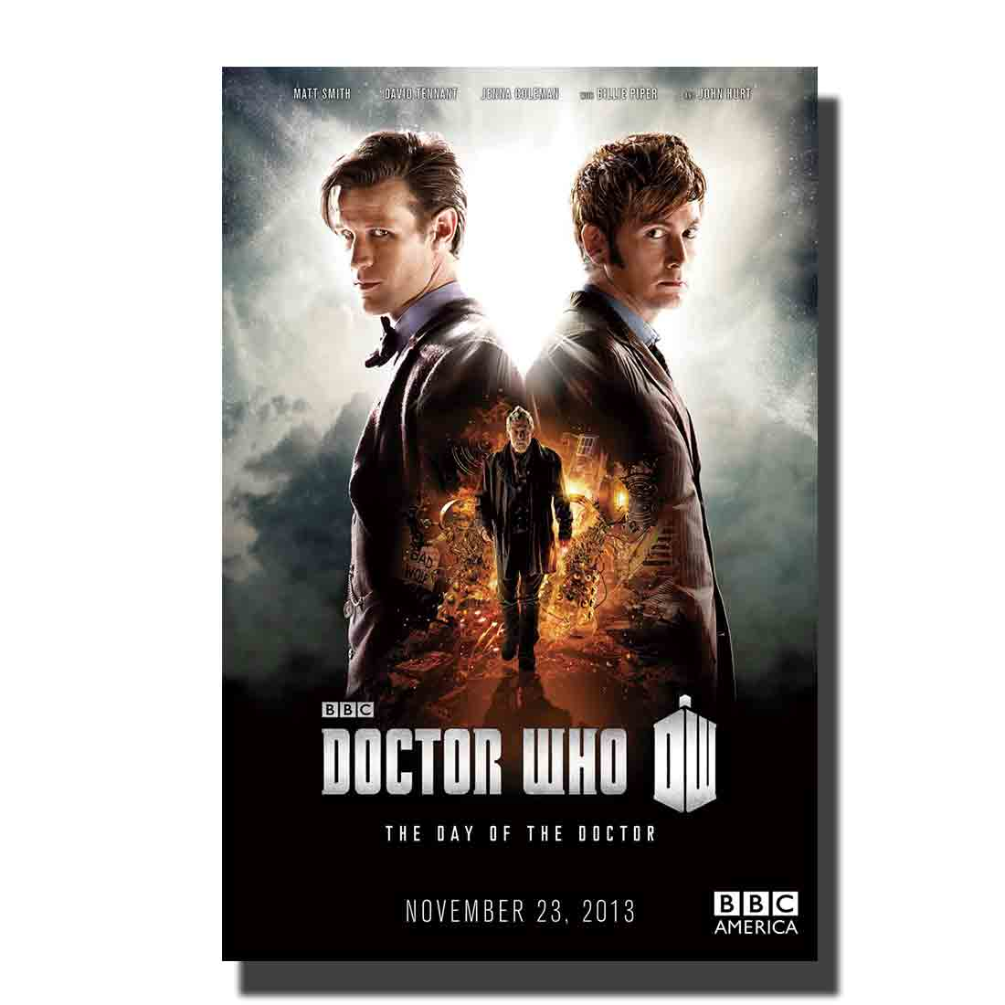 Doctor Who Season 8 TV Series Art Poster Print Home Wall decoration8x12 12x18 24x36 decor canvas room