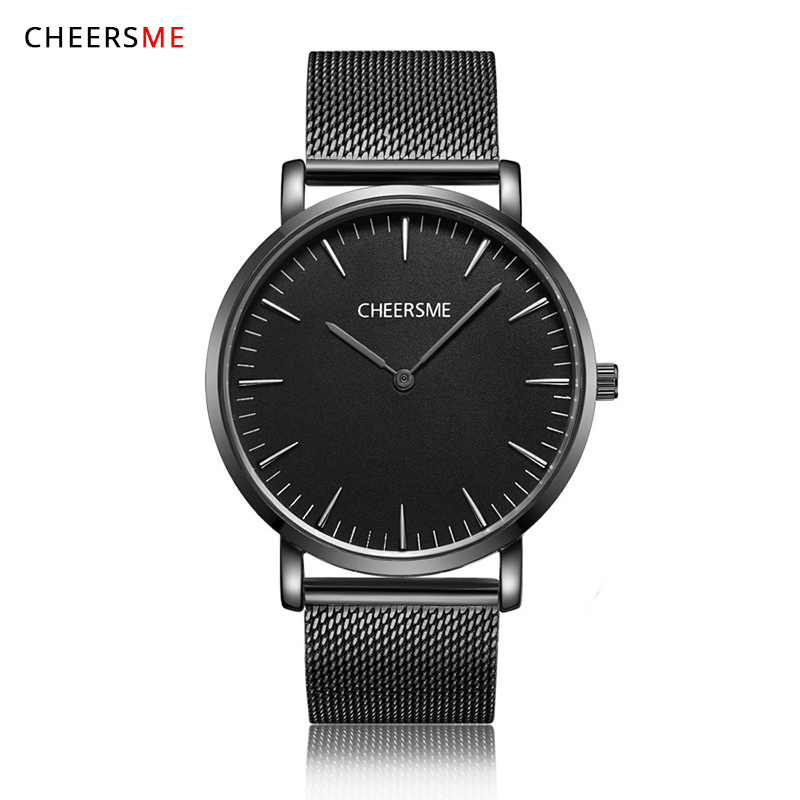 JOYROX Luxury Brand Men Watch Ultra Thin Stainless Steel Clock Male Quartz Sport Watch Men Waterproof Casual Wristwatch relogio luxury brand watches men quartz clock wach ultra thin stainless steel mesh strap gold wristwatch box waterproof sport watch men