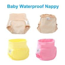 Recién nacidos Pañales de Tela Para Niños de Algodón Transpirable Pantalones de Entrenamiento Orinal Bebé Marca Suave Pañales Pañales Lavables Reutilizables 1 UNID