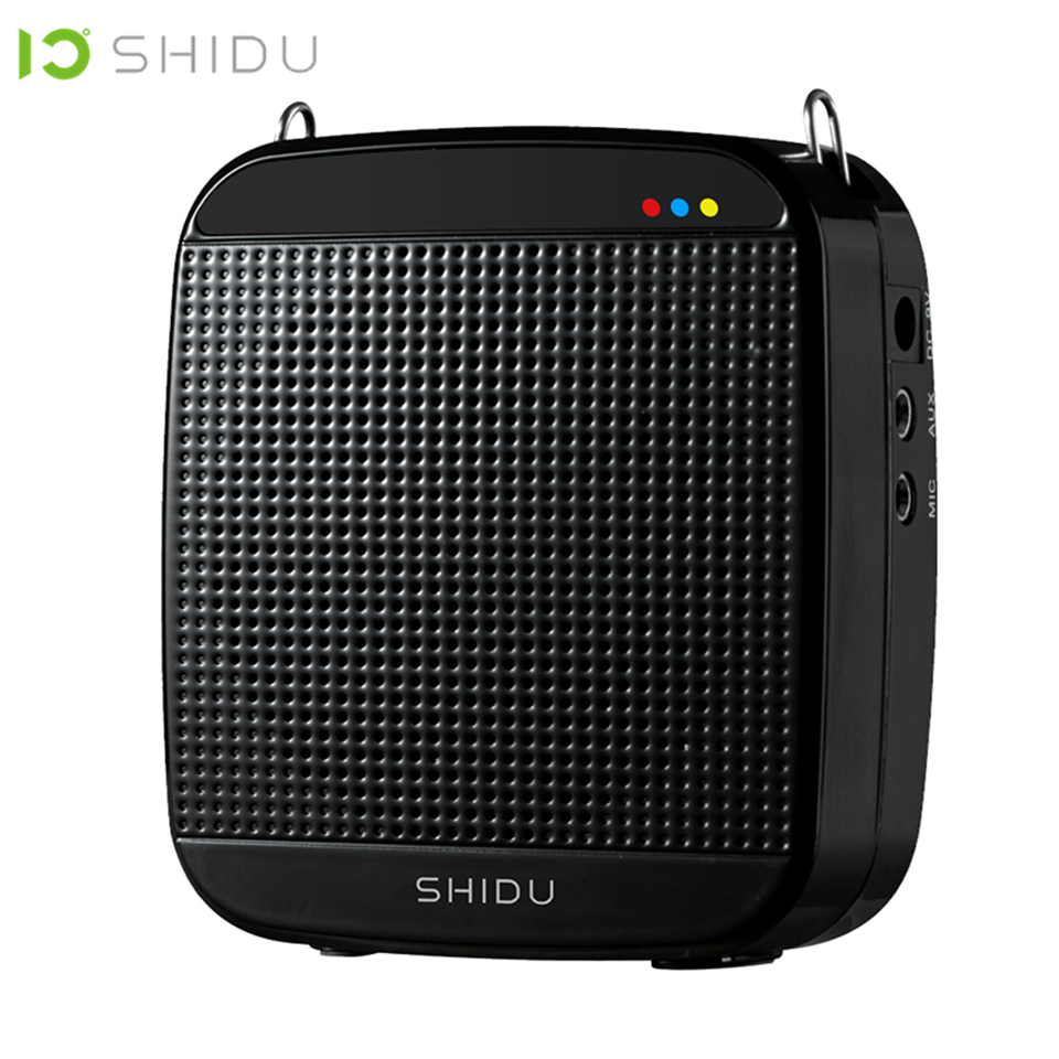 SHIDU M600 Voice Amplifier USB Speaker Wired Portable Full Range Speakers Lautsprecher For Teachers Tour Guide
