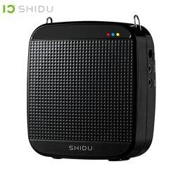 SHIDU M600 wzmacniacz głosu głośnik usb przewodowe przenośne głośniki pełnozakresowe Lautsprecher dla nauczycieli przewodnik wycieczek instruktorzy jogi