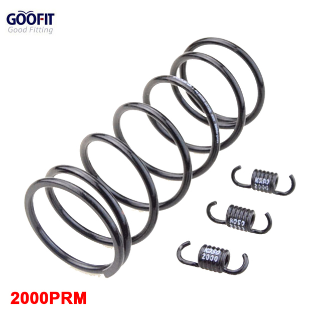 GOOFIT Scooter 2000PRM Torque Spring Performance Clutch Spring 157QMB GY6 150CC Moped ATV Parts Engine Racing Clutch Spring Set