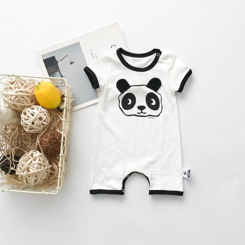 Celveroso 2018 cartoon panda baby Romper unisex katoen Korte mouw - Babykleding - Foto 6