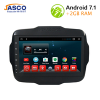 2 Din Car DVD Player Android 7.1.1 GPS Navigation for Jeep Renegade Multimeida Bluetooth Video RDS Radio Audio Player