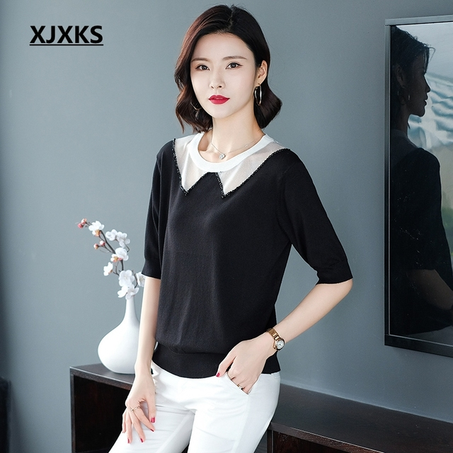 Women Clothes Summer Solid...