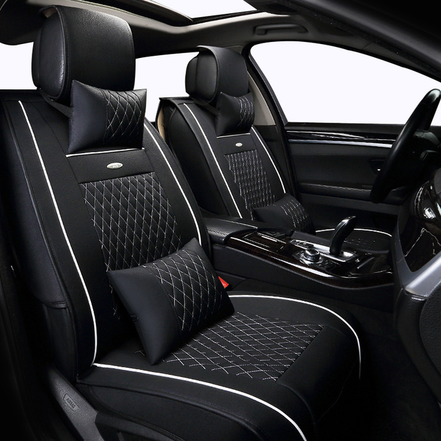 buy leather car seat cover set for citroen maserati volvo skoda great wall. Black Bedroom Furniture Sets. Home Design Ideas