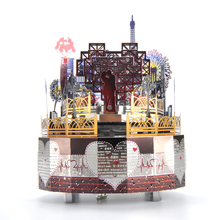 Romantic Lover Theme DIY Music Box for Gift Retro Classic Clockwork Music Box Crafts Home Decor Music Box Valentines Day Gift трусы music box
