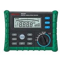PEAKMETER MS5203 insulation resistance meters digital megger meter earth impedance tester megohmmeter digital analog multimeter