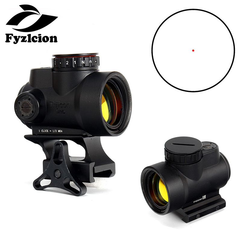 Hunting 2.0 MOA Trijicon Miniature Rifle Optic Sight (MRO) Holographic Red Dot Sight  Provide fast target acquisitionHunting 2.0 MOA Trijicon Miniature Rifle Optic Sight (MRO) Holographic Red Dot Sight  Provide fast target acquisition