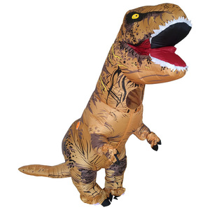 Image 2 - T REX Costume inflatable dinosaur costume For Anime Expo traje de dinosaurio inflable Blowup disfraces adultos costume for adult