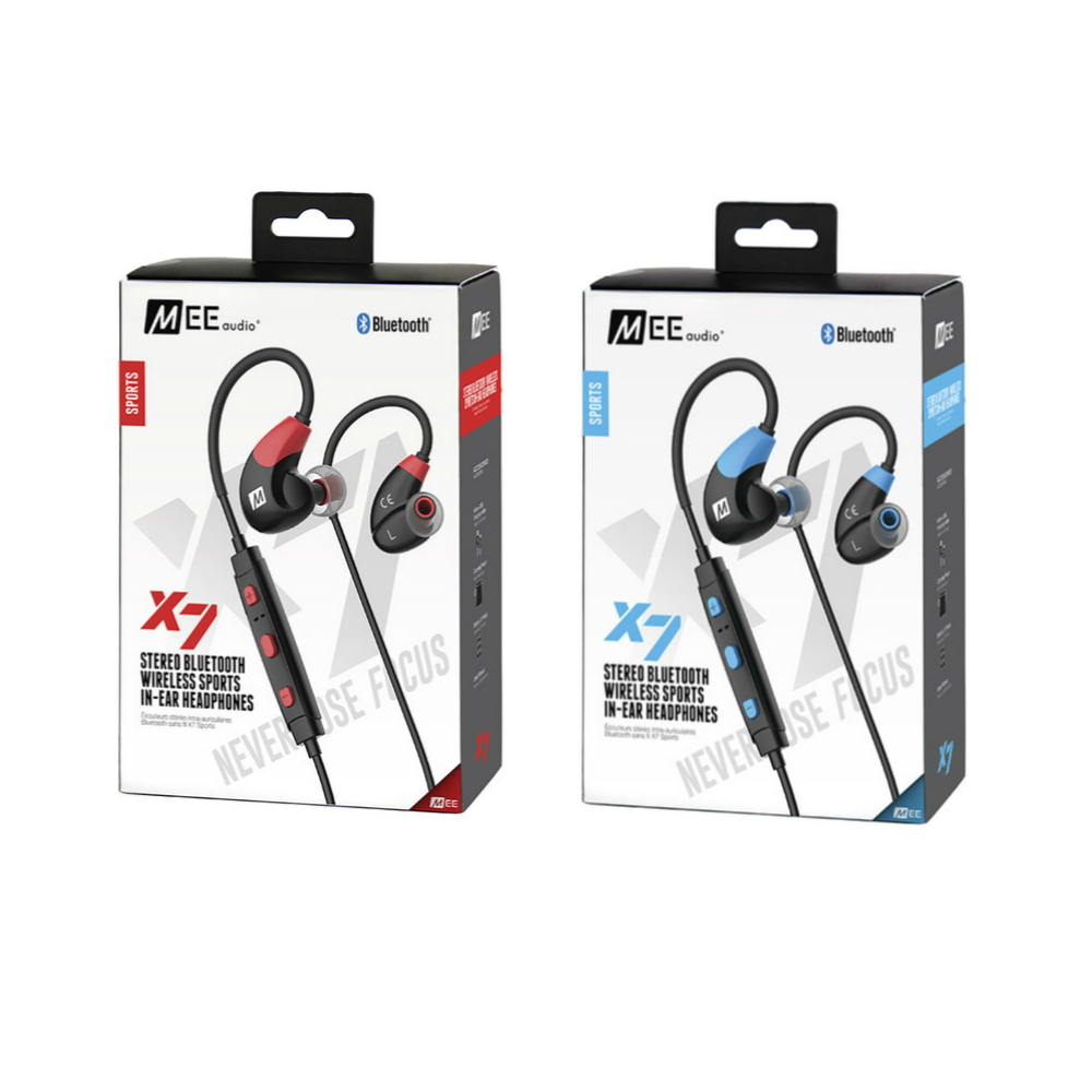 MEE audio X7 Bluetooth 4.1 Stereo Earphones Wireless Sports In-Ear Headphones With Microphone Headset For Iphone Samsung Xiaomi remax s2 bluetooth headset v4 1 magnet sports headset wireless headphones for iphone 6 6s 7 for samsung pk morul u5
