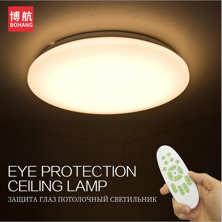 LED Ceiling Lights Lamp 24W 60W Smart Remote Control Dimmable Bedroom Living Room Acrylic Study Concise