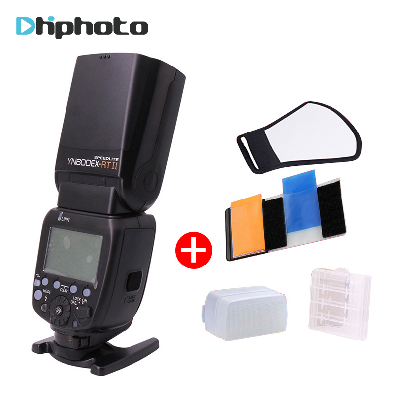 YONGNUO YN600EX-RT II Flash Speedlite 2.4G Wireless HSS 1/8000s Master TTL Speedlight for Canon DSLR as 600EX-RT YN600EX RT II 2017 new meike mk 930 ii flash speedlight speedlite for canon 6d eos 5d 5d2 5d mark iii ii as yongnuo yn 560 yn560 ii yn560ii
