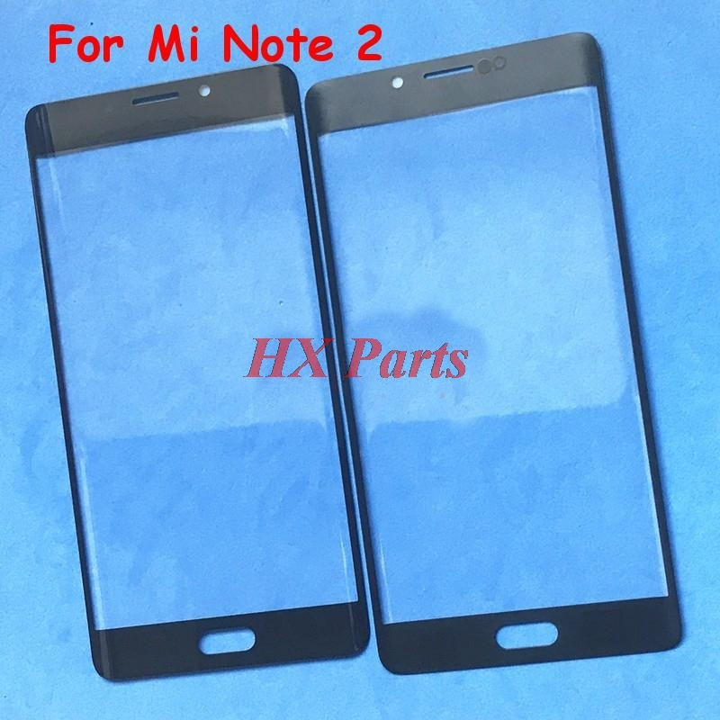 10 PCS Original For Xiaomi Mi Note 2 Note2 Outer Glass Replacement LCD Touch Screen Front