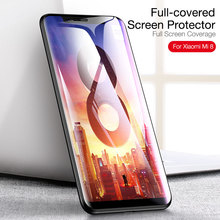 Cafele Full Coverage Tempered Glass for Xiaomi 8 HD Clear 9H Hardness Anti Scratch Screen Protector