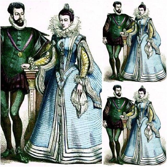 Kunden zu bestellen! 19 Century Cosplay Herzogin Vintage Kostüme ...
