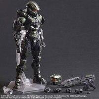 Halo Action Figures Play Arts Kai Master Chief PVC Toys 260mm Anime Movie Model Halo 5