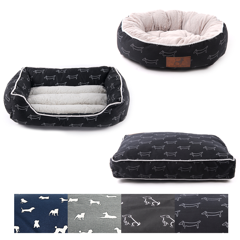 Dog Beds Mats Dog Bench Puppy Bed For Small Medium Large Dogs Cat Bed House Dog Beds Sofa Pet Lounger House Pitbull Pet Products image