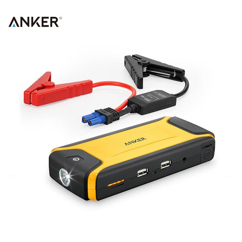imágenes para Anker 10000 mah Multi-Función de 12 V Coche Salto de Arranque Banco de Potencia 2 USB para Auto arranque del vehículo 12 V vehículo de gas o diesel 2.5L 3L