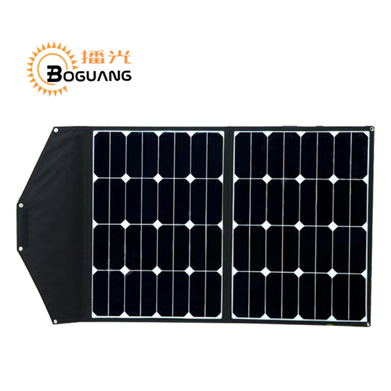 BOGUANG 60W high efficiency portable foldable solar panel charger cell laptop used for 12v battery phone hiking camping outdoor