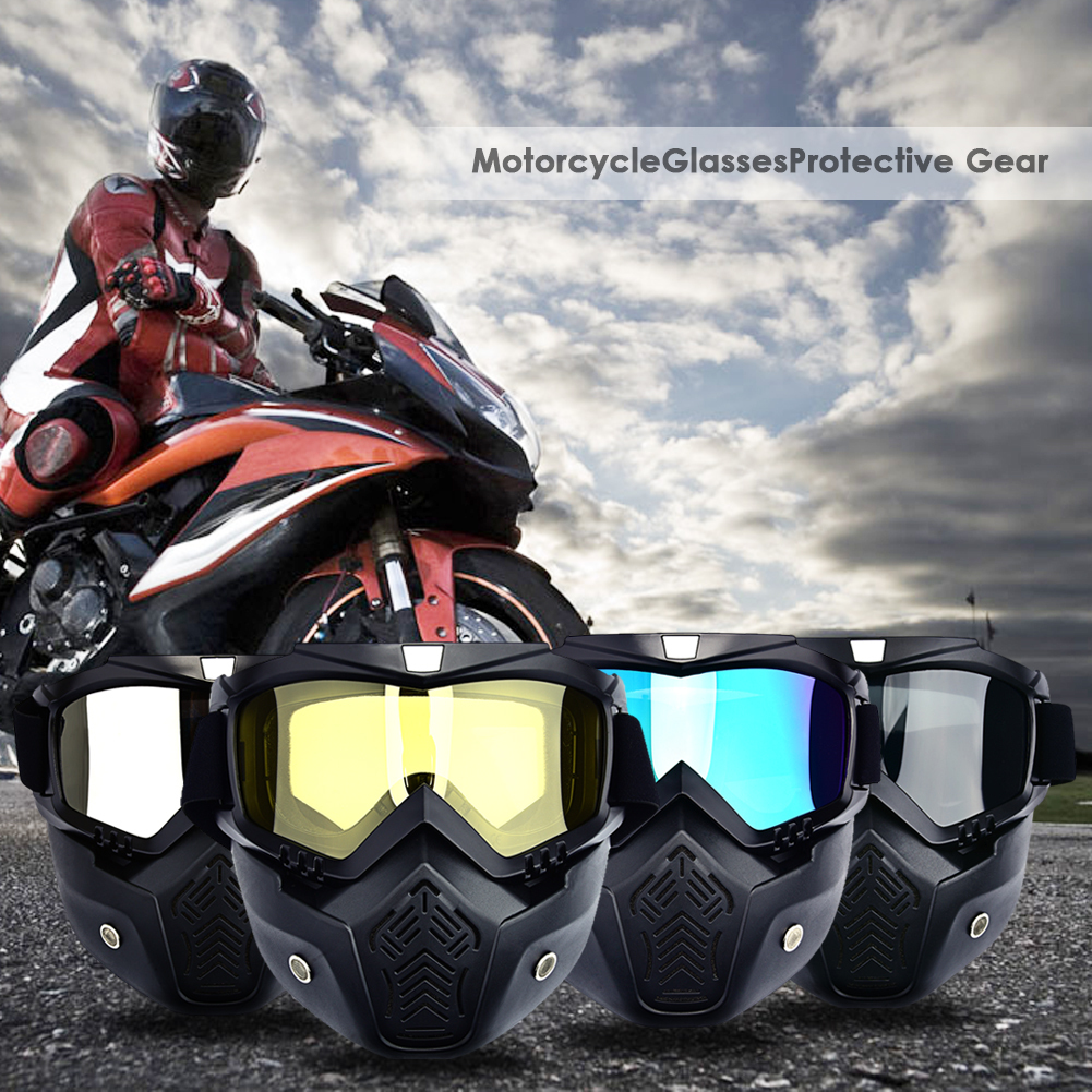 À Prova de Vento de Skate Óculos de Esqui Óculos de Sol Da Motocicleta Óculos de Proteção Para Masque Óculos de Motocross Capacete Óculos Fora-de Estrada Capacetes Máscara Óculos de Proteção