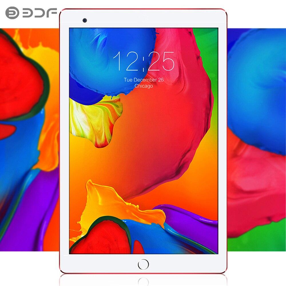 BDF New Android 7.0 Tablets 10 Inch 1GB+32GB Bluetooth Wifi  IPS Quad Core 3G Dual SIM Card Phone Call Tablet Pc