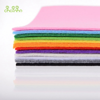 3mm Thick Felt Non Woven Fabric Polyester Cloth For Sewing Dolls Crafts Home Decoration Pattern Bundle