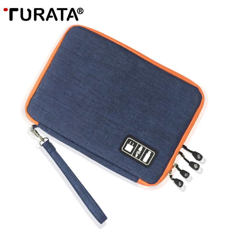 TURATA Case For ipad Air Pro 9.7 USB Data Cable Storage Bag For iPad mini Tablet 7.9, Pouch for 7,9 Tablet Travel Bag