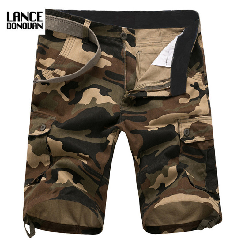 New 2017 Summer Mens Shorts Camouflage Cago For Men Breathable ...