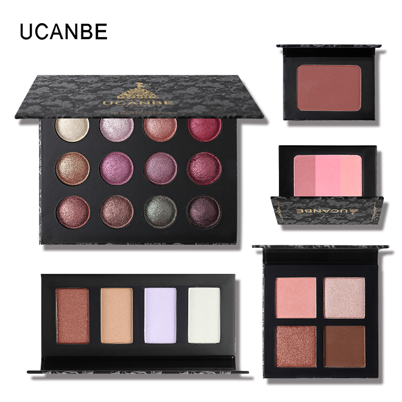 UCANBE Brand Palette Big Clearence Makeup Sets Low Price Highlighter Bronzer Eyeshadow Blusher Pressed Powder Cosmetic Kit