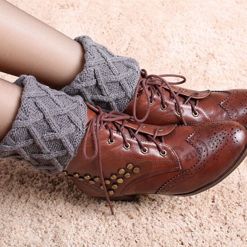 TOIVOTUKSIA Gaiters Crochet Knit Boot Cuffs Boot Socks Crochet Free ...