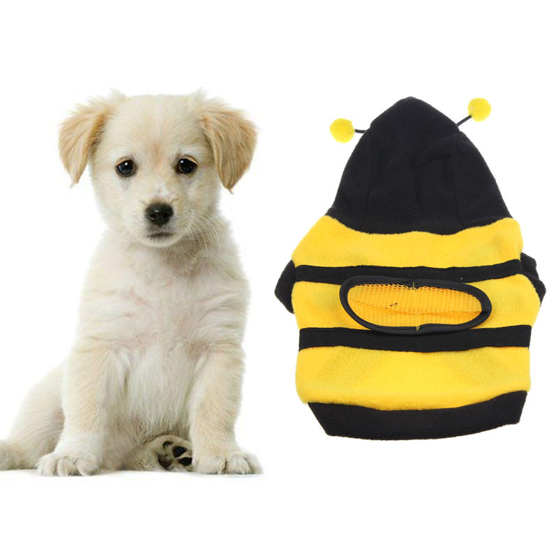 New Dogs Pets Clothes Cute Bumble Bee Lovely Wings Dog Pet Clothes ropa para perros XT