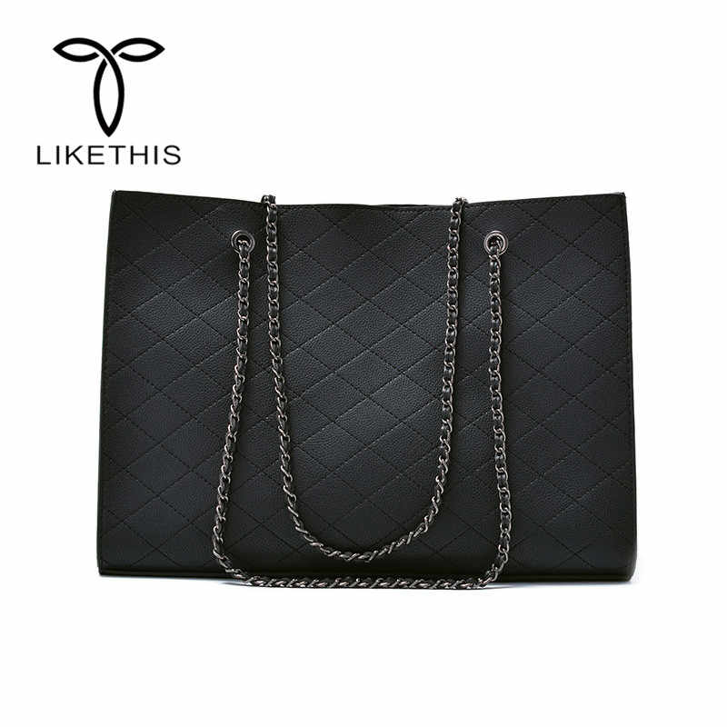 Luxury Women Shoulder Bags Tote Quilted Crossbody Bag Chain Large Handbag Purse