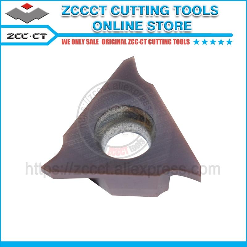 ZCC machine tool thread insert QC22R150 R02 YBG205 and QC22L150 R02 1 pack
