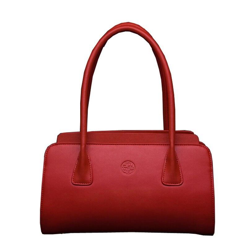 цена на Women bag 2016 new retro Chinese style handbag Shoulder Messenger Bag Boston bag