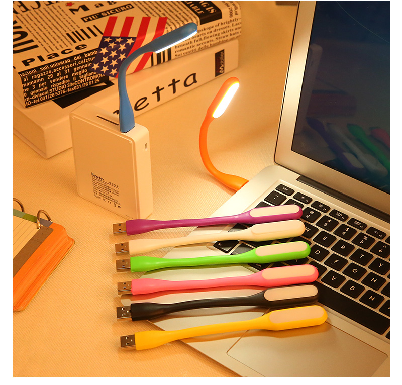 Flexible Metal USB Gadget LED Bulb Ultra Bright USB LED Light USB LED Lamp Foldable