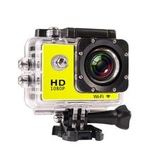 Original Goldfox Marca SJ7000 Mini Cámaras Micro 2.0 pulgadas 1080 P Full HD WiFi Acción Del Deporte Camera + Extra 1 batería + Monopie