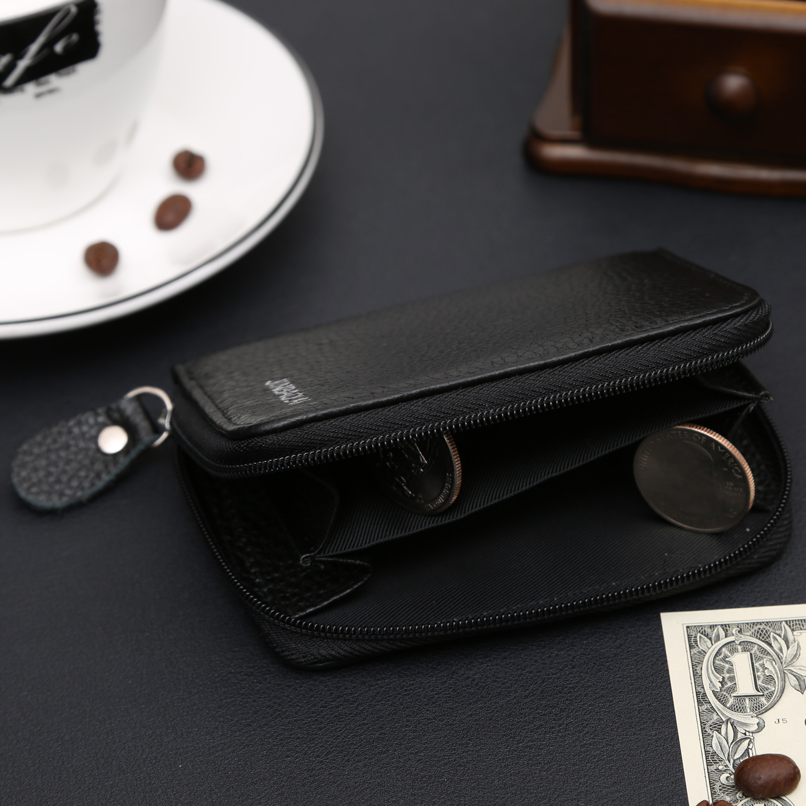 With Coin Bag Zipper Mini Wallets 2018 New Famous Brand Men Women Purse Thin Wallet Coin Purses Wallet carteira feminina 1