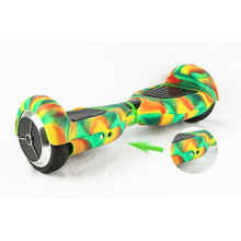 """Hoverboard Silicone Case Cover Shell Waterproof Protector for Oxboard 6.5 """" 2 Wheel Smart Self Balancing Electric Scooter Sleeve"""