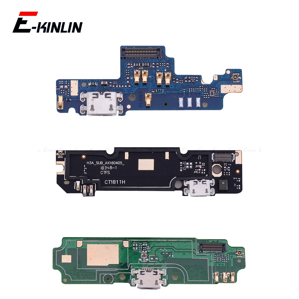 USB Power Charging Connector Plug Port Dock Flex Cable For Xiaomi Redmi 2 2A 3S 4A 4X 5A Note 4X Global 2 4 Note 3 Pro 5A(China)