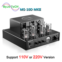 Nobsound MS 10D MKII MS 10D MKIII Tube Amplifier Vaccum amplificador Bluetooth amplifier USB 110V or 220V MS 10D amplificador