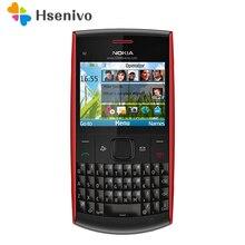 100% оригинальный телефон Nokia X2-01 Symbian OS X2-01 клавиатуры компьютера мобильный телефон Мода Сотовые телефоны Бесплатная доставка