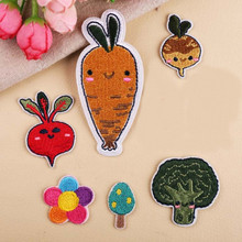 Food Vegetable Patch Embroidered Patches For Clothing Iron On For Close Shoes Bags Badges Embroidery food vegetable patch embroidered patches for clothing iron on for close shoes bags badges embroidery