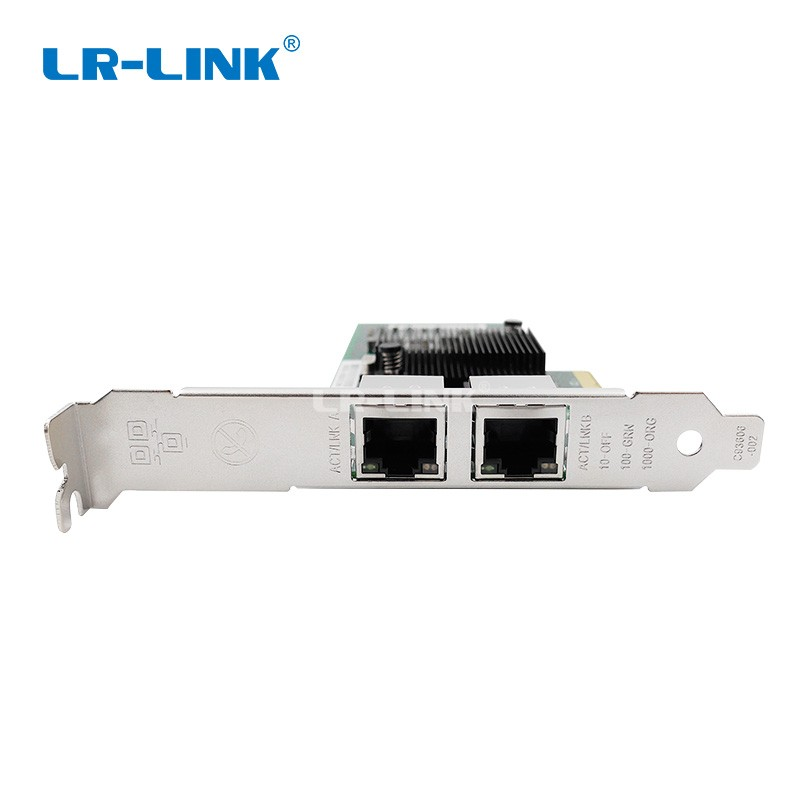 Image 3 - LR LINK 9702ET Dual Port PCI Express Network Card 1gb Gigabit Ethernet Network Adapter Server Intel 82576 E1G42ET Compatible NIC-in Networking Storage from Computer & Office