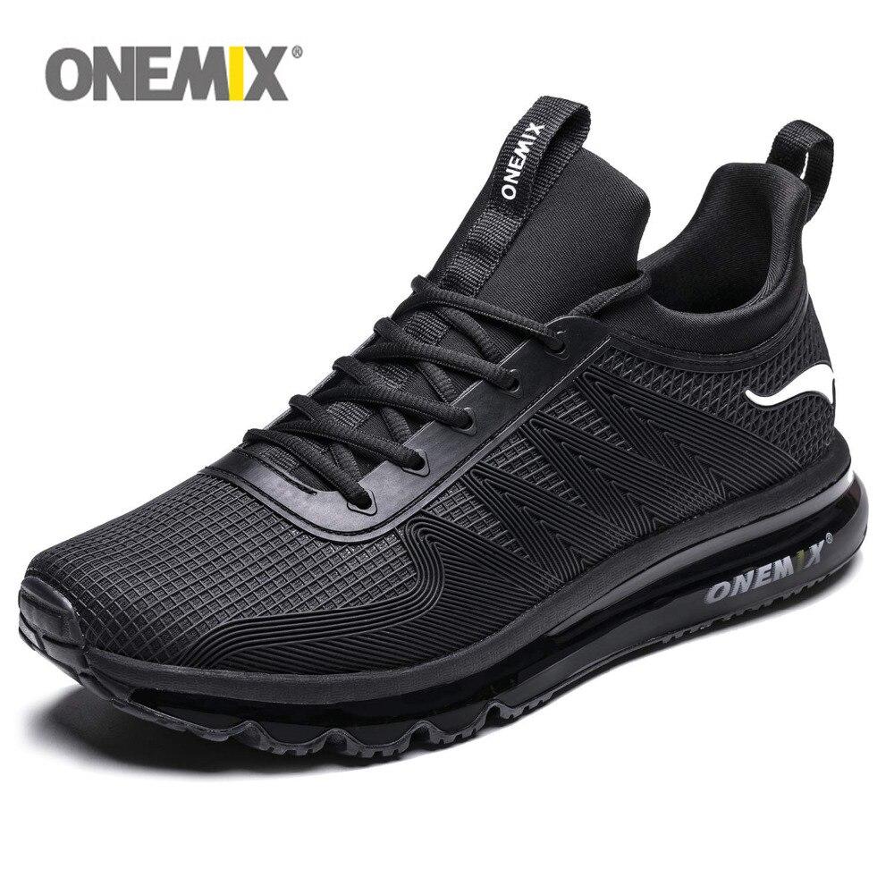 wholesale dealer 72dde ddd2b ONEMIX Tênis de corrida Dos Homens Do Esporte Sapatos 97 Walking Jogging Ao  Ar Livre Almofada de Ar Tênis para Mulheres Max 12.5 em Tênis de corrida de  ...