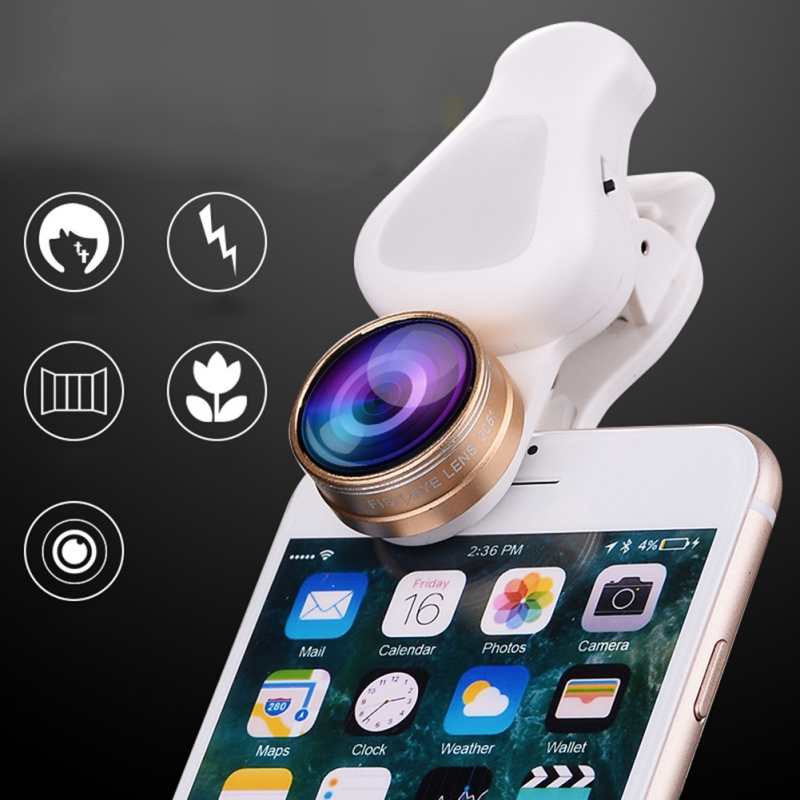ZM 038 Beauty with Flashlight High Quality Lens fort Cell