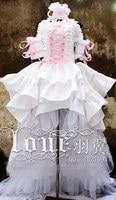 Anime Puella Chobits Eruda Chii Wedding Dresses Cosplay Costume High Quality F