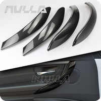 Carbon Look Interior Door Handle Cover Trim For BMW 3 Series F30 F31 2013-2017 GT F34 14-17 & 4 Series F35 F36 15-17