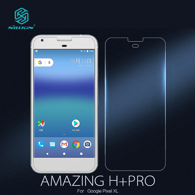 """For Google Pixel XL NILLKIN Amazing CP+(complete covering) Anti-Explosion Tempered Glass Screen Protector For Pixel XL 5.5"""""""